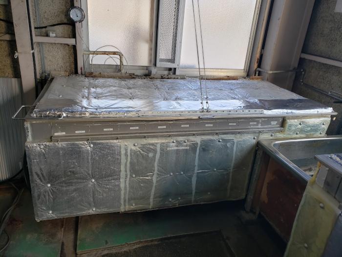 湯の保温,プラスチック加工業,断熱,断熱保温